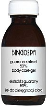 Düfte, Parfümerie und Kosmetik Pflegendes Körpergel mit Guarana-Extrakt - Bingo Spa Guarana Extract 50% Body Care Gel