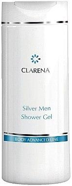 Beruhigendes Duschgel für empfindliche Männerhaut - Clarena Silver Men Shower Gel — Bild N1