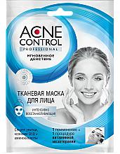 Düfte, Parfümerie und Kosmetik Regenerierende Gesichtsmaske mit Schneckenextrakt und Coenzym Q10 - Fito Kosmetik Acne Control Professional