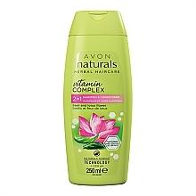 Düfte, Parfümerie und Kosmetik 2in1 Shampoo und Conditioner mit Basilikum und Lotusblume - Avon Naturals Hair Care Shampoo