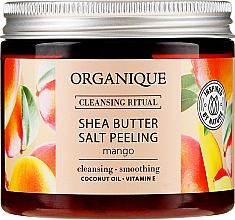 Düfte, Parfümerie und Kosmetik Salzpeeling für den Körper mit Sheabutter und Mangoduft - Organique Shea Butter Salt Peeling Mango