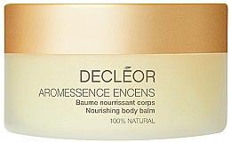 Düfte, Parfümerie und Kosmetik Pflegender Körperbalsam für trockene bis sehr trockene Haut - Decleor Aromessence Encens Nourishing Body Balm
