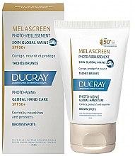 Düfte, Parfümerie und Kosmetik Handpflege gegen Pigmentflecken - Ducray Melascreen Global Hand Care SPF 50+