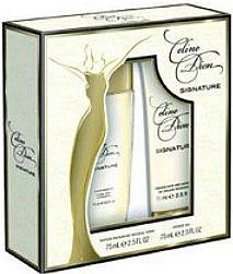Celine Dion Signature - Duftset (Deodorant/75ml + Duschgel/75ml) — Bild N1