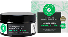 Düfte, Parfümerie und Kosmetik Universelle Gesichts- und Körpercreme mit natürlichem Hanföl - Green Feel's Universal Face And Body Cream