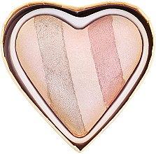 Make-up Set - I Heart Revolution Chocolate Heart 2019 — Bild N7