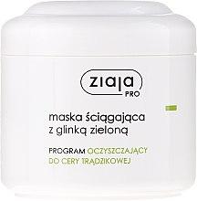 Düfte, Parfümerie und Kosmetik Gesichtsmaske aus Grünem Ton - Ziaja Pro Mask With Green Clay
