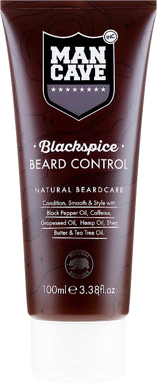 Bartbalsam - Man Cave Blackspice Beard Control — Bild N1