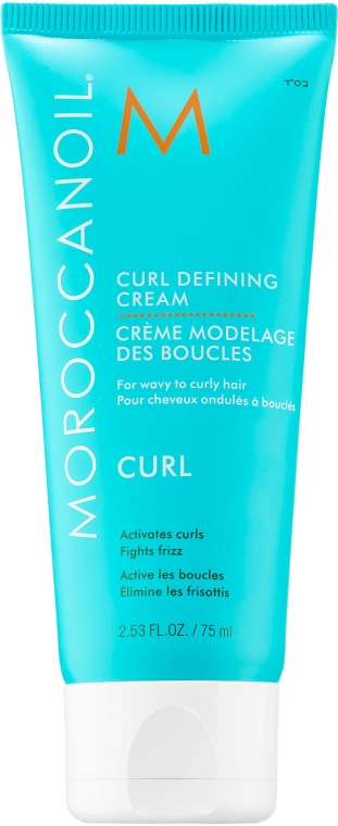 Anti-Frizz Creme für welliges und lockiges Haar - Moroccanoil Curl Defining Cream — Bild N1