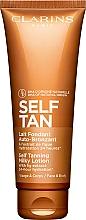 Düfte, Parfümerie und Kosmetik Feuchtigkeitsspendende Selbstbräunungslotion für den Körper - Clarins Self Tanning Milky Lotion
