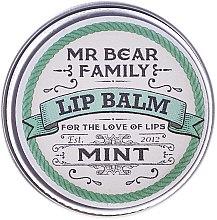 Düfte, Parfümerie und Kosmetik Lippenbalsam - Mr. Bear Family Lip Balm Mint