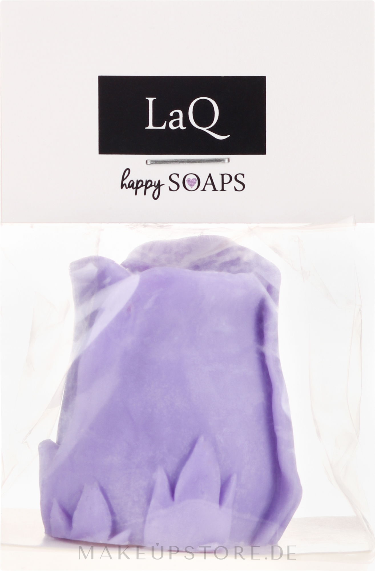 Handgemachte Naturseife Rose mit Lavendelduft - LaQ Happy Soaps Natural Soap — Bild 40 g