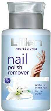 "Acetonfreier Nagellackentferner ""Lilie"" - Lilien Nail Polish Remover — Bild N1"