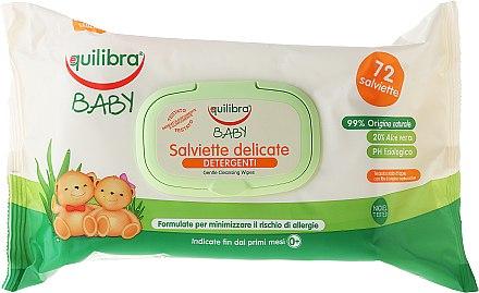 Feuchte Babypflegetücher - Equilibra Baby — Bild N2