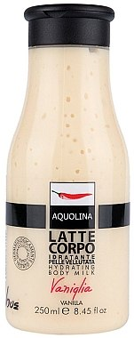 Schützende und feuchtigkeitsspendende Körperlotion - Aquolina Body Milk Latte Corpo Vanilla — Bild N1