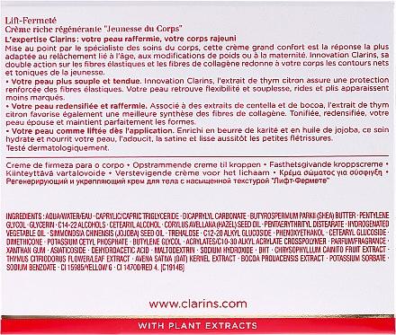 Regenerierende Körpercreme - Clarins Extra-Firming Body Cream — Bild N3
