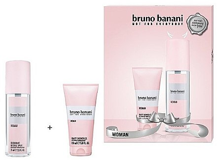 Bruno Banani Woman - Duftset (Körperspray/75ml + Duschgel/50ml) — Bild N1
