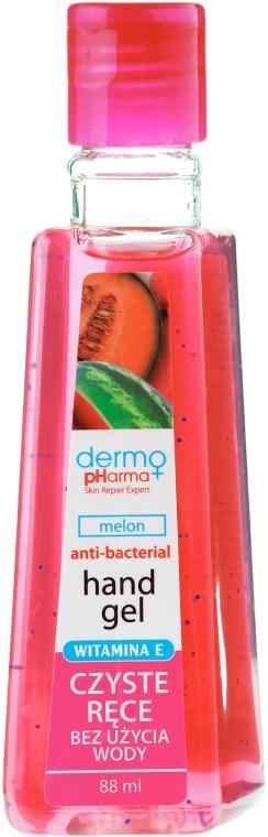 Antibakterielles Handwaschgel mit Zuckermelonenduft - Dermo Pharma Antibacterial Hand Gel