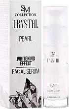 Düfte, Parfümerie und Kosmetik Aufhellendes Gesichtsserum mit Perlenpulver - Hristina Cosmetics SM Collection Crystal Pearl Facial Serum