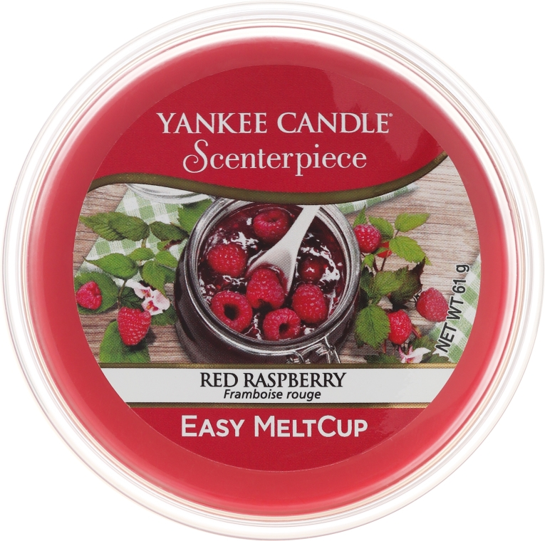 Tart-Duftwachs Red Raspberry - Yankee Candle Red Raspberry Melt Cup — Bild N1
