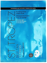 Düfte, Parfümerie und Kosmetik Pflegende und bronzierende Tuchmaske - St. Tropez Self Tan Express Bronzing Face Sheet Mask