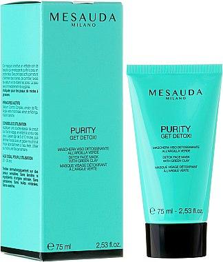 Detox Gesichtsmaske mit grünem Lehm - Mesauda Milano Skin Care Purity Get Detox — Bild N2