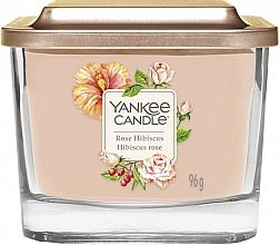 Duftkerze im Glas Rose Hibiscus - Yankee Candle Elevation Rose Hibiscus — Bild N1