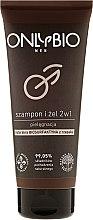 Düfte, Parfümerie und Kosmetik 2-in-1 Shampoo & Duschgel für Männer - Only Bio