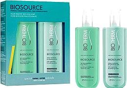 Düfte, Parfümerie und Kosmetik Gesichtspflegeset - Biotherm Duo Biosource Piel Normal-Mixta (Gesichtslotion 400ml + Gesichtsmilch 400ml)