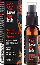 Düfte, Parfümerie und Kosmetik Tattoopflege-Spray - Love My Ink Tattoo Aftercare Spray