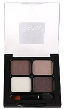 Augenbrauen Set - One&Only Cosmetics For Brow Brows Kit — Bild N2