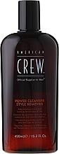 Tägliches Shampoo zur Entfernung von Rückständen für alle Haartypen - American Crew Power Cleanser Style Remover — Bild N2