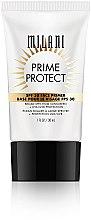 Düfte, Parfümerie und Kosmetik Gesichtsprimer mit SPF 30 - Milani SPF 30 Prime Protect SPF 30 Face Primer