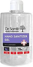 Düfte, Parfümerie und Kosmetik Antibakterielles Lavendel-Händedesinfektionsmittel - Dr. Sante Antibacterial Hand Sanitizer Gel With Lavender