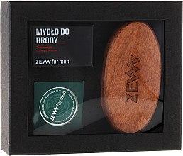 Düfte, Parfümerie und Kosmetik Pflegeset für Männer - Zew For Men Set (oil/30ml + soap/85ml + brush)