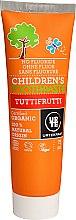 Düfte, Parfümerie und Kosmetik Organische fluoridfreie Kinderzahnpasta mit fruchtigem Geschmack - Urtekram Childrens Toothpaste Tuttifrutti