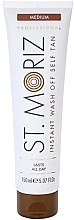 Düfte, Parfümerie und Kosmetik Selbstbräuner-Creme - St.Moriz Professional Instant Wash Off Self Tan