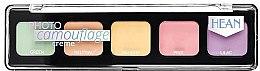 Düfte, Parfümerie und Kosmetik Creme Concealer-Palette - Hean Photo Camouflage Cream Concealer Palette