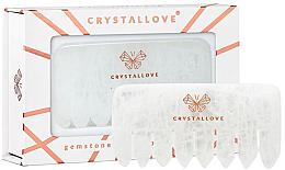 Düfte, Parfümerie und Kosmetik Massage-Haarkamm aus Quarz - Crystallove Clear Quartz Comb