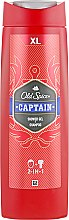 "Düfte, Parfümerie und Kosmetik 2in1 Duschgel & Shampoo ""Captain"" - Old Spice Captain Shower Gel"