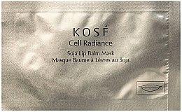 Düfte, Parfümerie und Kosmetik Feuchtigkeitsspendende Lippenbalsam-Maske mit Soja - Kose Cell Radiance Soja Lip Balm Mask