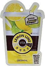 Düfte, Parfümerie und Kosmetik Gesichtsmaske mit Zitrone und Limette - Mediheal Lemonlime Vita Mask