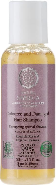 Shampoo für coloriertes und strapaziertes Haar - Natura Siberica Wild Harvested Hair Shampoo — Bild N1