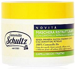 Düfte, Parfümerie und Kosmetik Regenerierende Maske für helles Haar mit Kamille - Schultz Camomilla Shampoo
