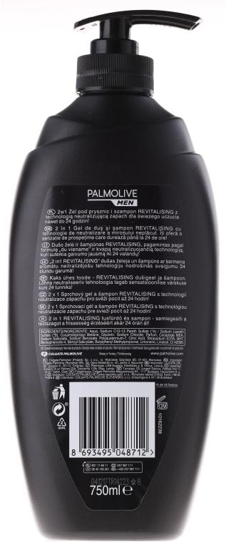 Revitalisierendes Haar&Körper Duschgel - Palmolive Naturals — Bild N3