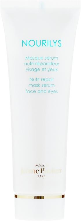 2in1Pflegemaske-Serum für Gesicht und die empfindliche Augenpartie - Methode Jeanne Piaubert Nourilys Nutri Repair Mask Serum Face & Eyes — Bild N2
