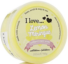 Düfte, Parfümerie und Kosmetik Zucker-Körperpeeling Lemon Meringue - I Love... Lemon Meringue Whipped Sugar Scrub