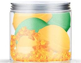 Düfte, Parfümerie und Kosmetik Badebomben-Set - Nacomi Orange Vanilla and Green Tea Bath Bomb (bomb/4 St.)