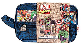Düfte, Parfümerie und Kosmetik Set - Marvel Comics Hero (deo/150ml+sh/gel/50ml+cr/50ml+hair/gel/75ml+bag)