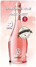 Düfte, Parfümerie und Kosmetik Tuchmaske für das Gesicht mit Champagner - Coscodi
